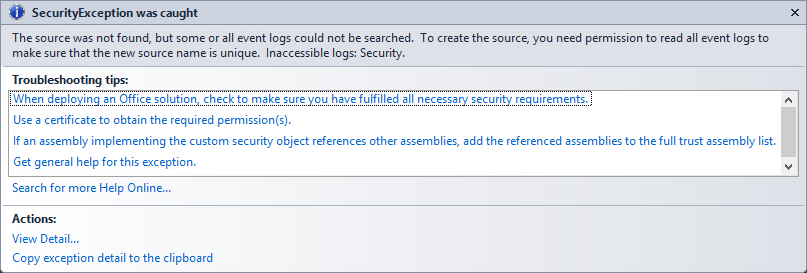 Write SQL Server Audit Events to the Security Log